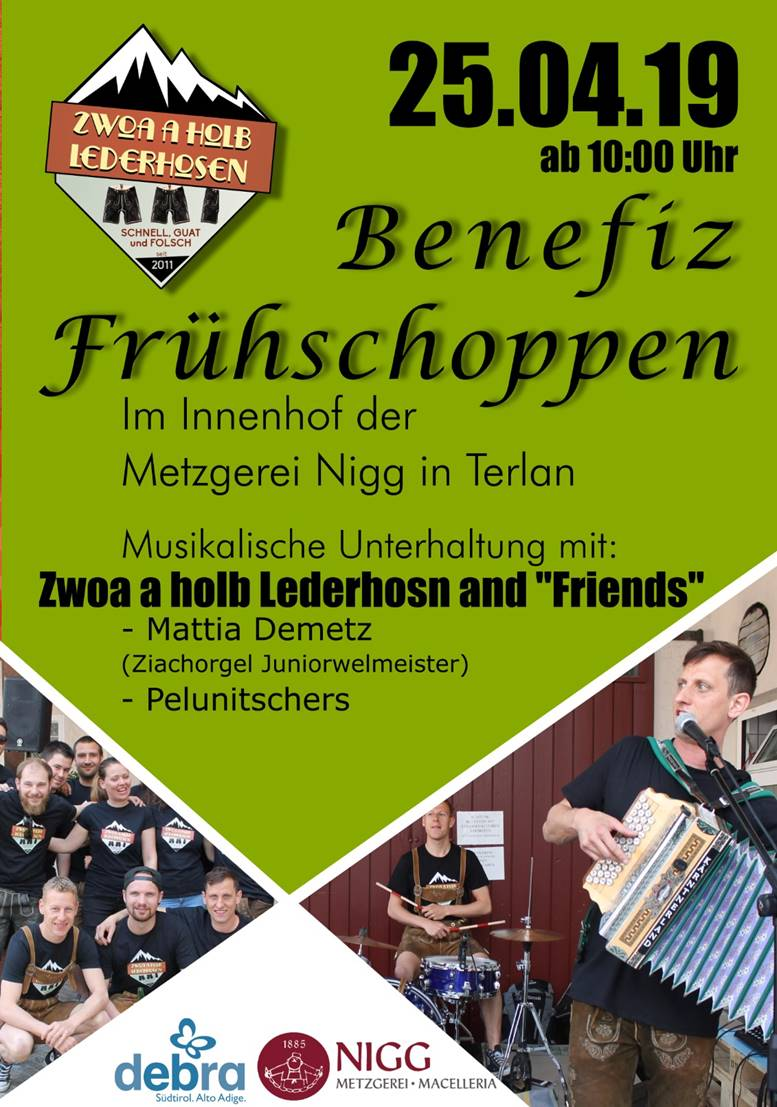 Benefiz-Frühshoppen in Terlan